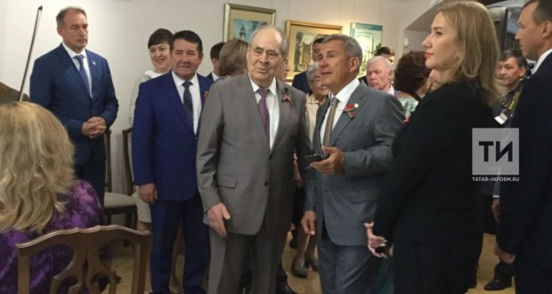 Rustam Minnikhanov visited the G. Tukay Literary Museum after repair and restoration works