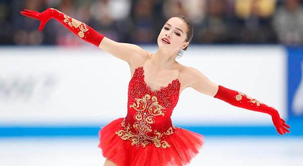 Алина Загитова выиграла золото Гран-при по фигурному катанию в Хельсинки