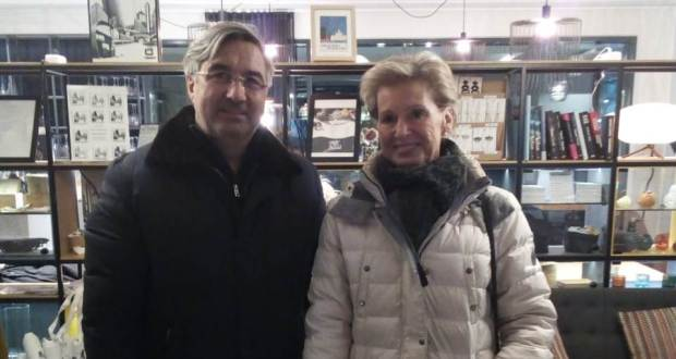 Vasil Shaikhraziev arrives on a working visit to Finland