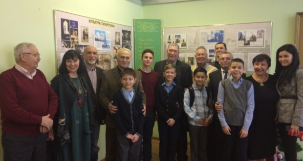 Cultural luminaries of the G.Kamal theater met with students of the Tatar school in Moscow