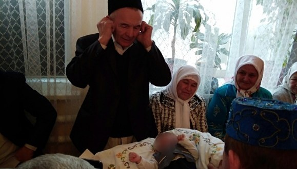 "In Samara, the national rite ""Byabi Chyaye"" held"