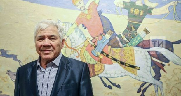 "Today in Kazan, the opening of the exhibition ""History and personality"" by  the national artist of the Republic of Tatarstan Rifkat Vakhitov  will be held"