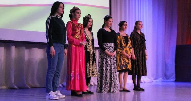 """An activist of the Council of Tatar youth of the TOСTS """"Tashkent"""" participates in selection of students of Kazan universities for the title of """"The Beauty of Uzbekistan — 2019"""" in Kazan"""