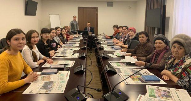Конгресста Башкортстанның Кырмыскалы районныннан милләттәшләребезне кабул иттеләр