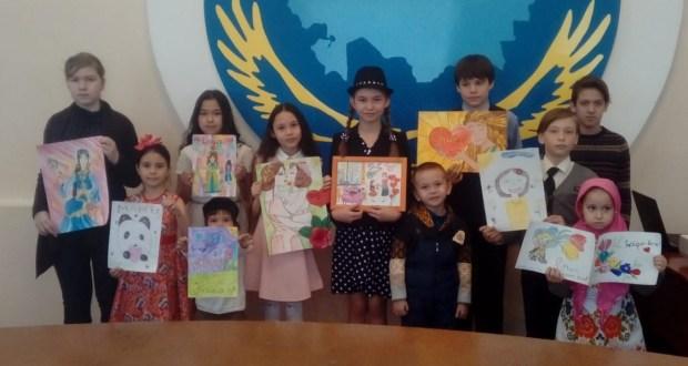 В Северо-Казахстанской области провели конкурс детских рисунков