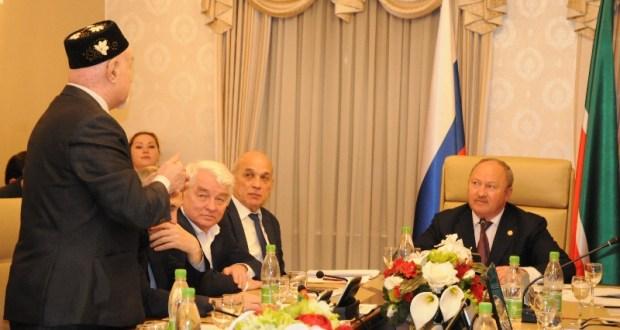 В Полпредстве Татарстана собрался актив татарской общественности московского региона
