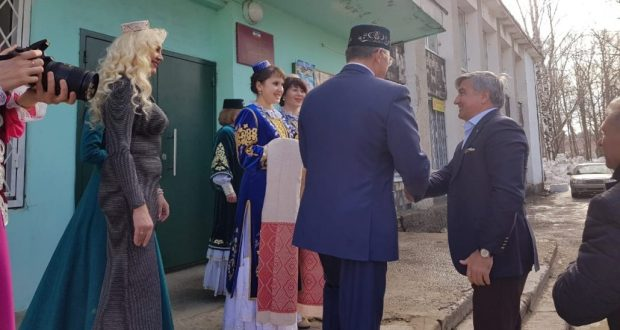 Chairman of the National Council visited the Center for Tatar Culture in Yoshkar-Ola