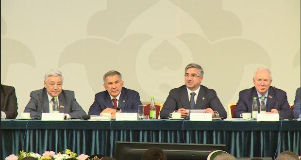 ВИДЕО: VIII Бөтенроссия татар авыллары эшмәкәрләре җыенының пленар утырышы