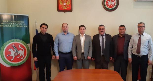В Представительстве состоялась встреча с делегацией из г.Елабуга