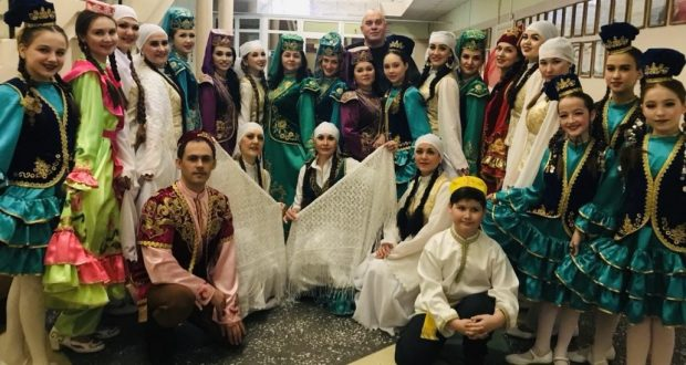 "A concert   by   the ""Sandugach""  collective  took place in Surgut"