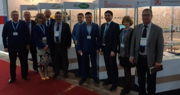 Ташкентта узган Халыкара медицина күргәзмәсендә Татарстан да катнашты