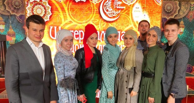 """Tatars Headquarters  (Shtab Tatar) "" took part in the opening of the ""Tent of Ramadan"""