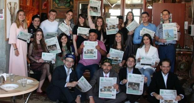 В «Штабе татар» читают газету «Халкым минем»
