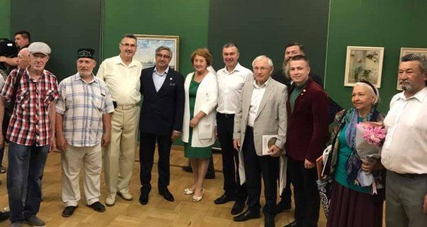 Экспозиция посвящена предстоящему юбилею – 100-летию образования ТАССР.