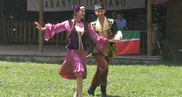 Жаркий итальянский Сабантуй