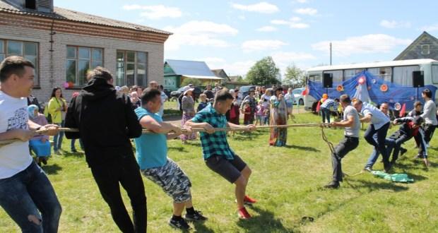 В деревне Сосмак Можгинского района провели Сабантуй