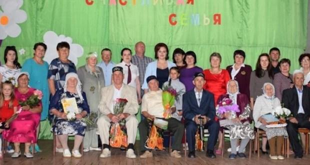 Ульяновск өлкәсенең Үрән авылында үрнәк гаиләләрне хөрмәтләделәр