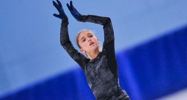 Tatar girl Camila Valieva won the junior stage of the Grand Prix in Courchevel