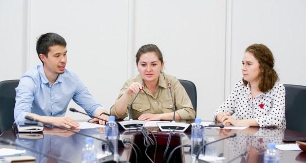 Пресс-конференция, посвященная форуму руководителей татарских молодежных организаций