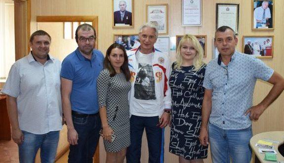 Зинэтула Билялетдинов посетил редакцию татарской газеты «Туган як»