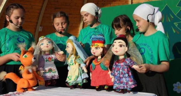 Детский театр кукол «Экият» участвовал на фестивале в Зеленодольске