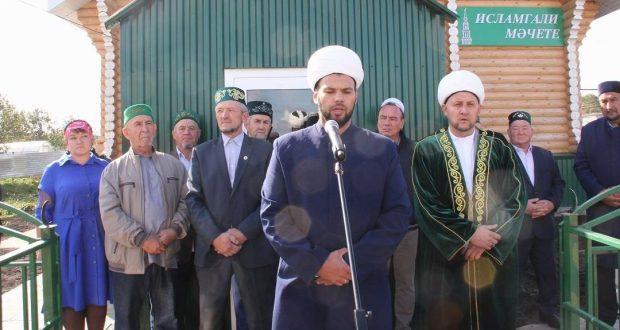 В Буинском районе открыли новую мечеть «Исламгали»