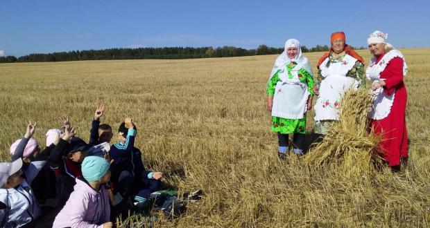 Чирмешән районында балаларны көлтә бәйләргә өйрәткәннәр