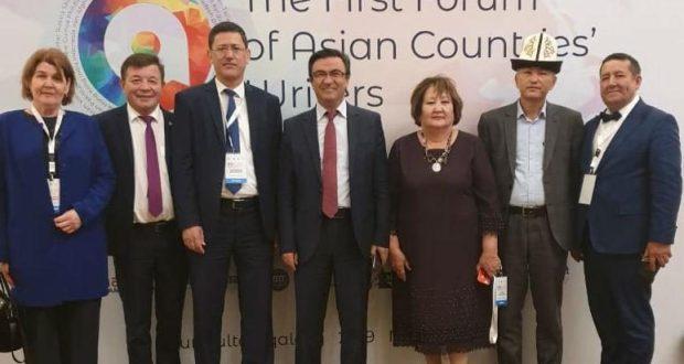 Писатели Казахстана и Татарстана подписали соглашение о сотрудничестве