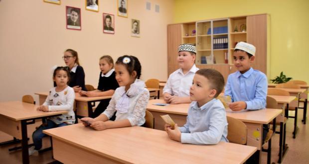 Класс татарского языка открыли в школе Нижневартовска