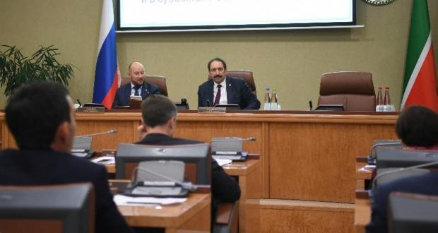 Алексей Песошин встретился с представителями Татарстана в субъектах РФ и за рубежом