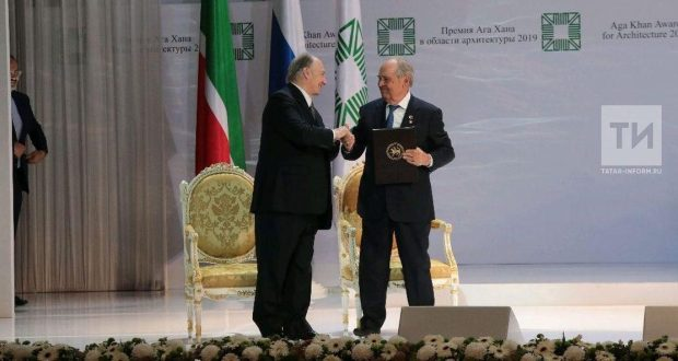 Минтимер Шәймиев: Ага Хан премиясендә җиңүне без югары бәя итеп кабул итәбез