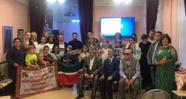 Tatars of the Sakhalin Region celebrated the Republic of Tatarstan Day