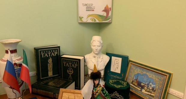 ФОТОРЕПОРТАЖ: Татарстанның Санкт-Петербургтагы даими вәкиллегендә ТАССРның 100 еллыгына багышланган күргәзмә ачылды