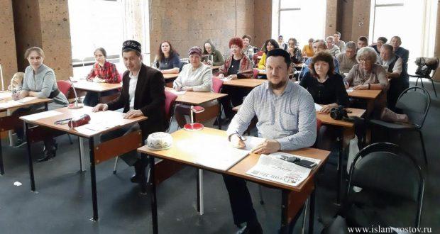 Заместитель муфтия Ростовской области принял участие в акции «Татарча диктант»