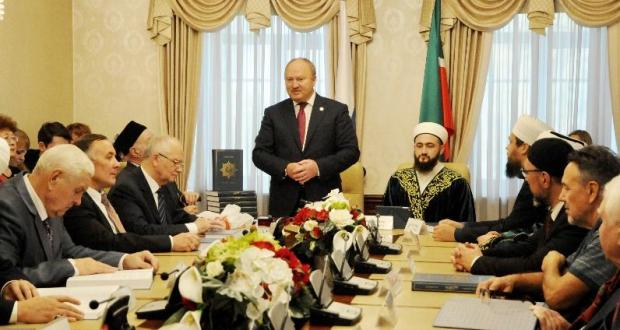 The Tatarstan Representation presented a translation of the meanings of the Koran in the Tatar language