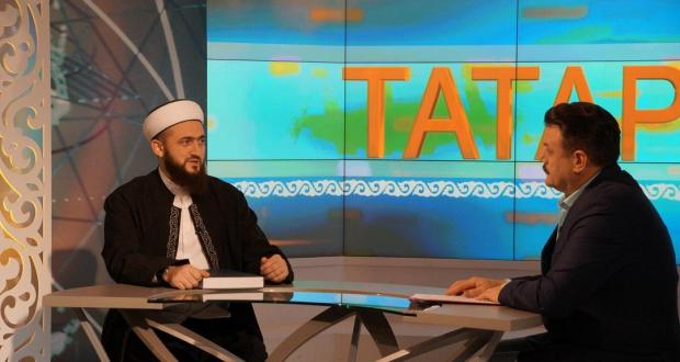 Mufti of Tatarstan became a guest of the  program «Tatarlar»