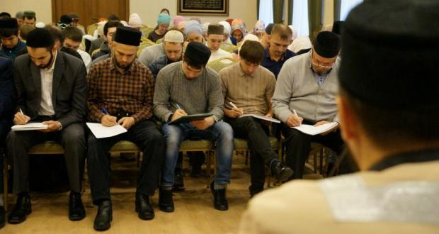 "For the first time ""Tatarcha dictation"" was written at the mosques of the republic"