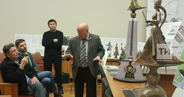 В Казани рассмотрели площадки для установки скульптуры царицы Сююмбике