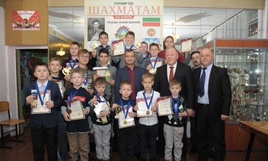 The annual chess tournament for the Rashid Nezhmetdinov Cup determined the winners