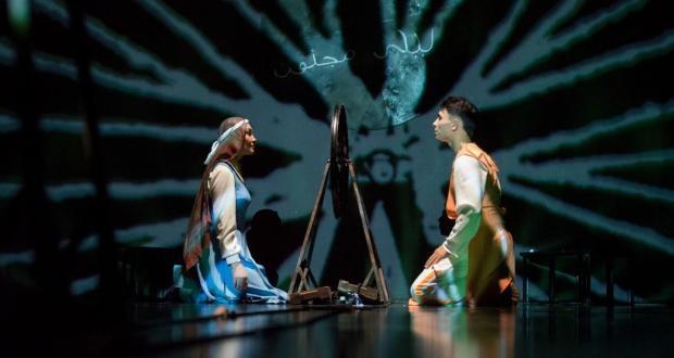 Кариев театры Милли музейда «Ләйлә вә Мәҗнүн» спектакленнән өзек тәкъдим итә