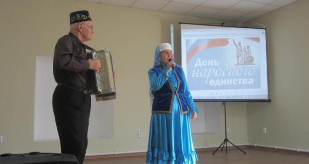 Татары Кургана приняли участие в концерте, посвященному Дню народного единства