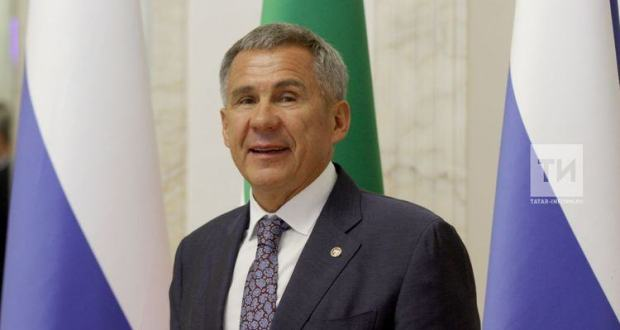 Rustam Minnikhanov awarded the prize of the fund of St. Andrew the First-Called
