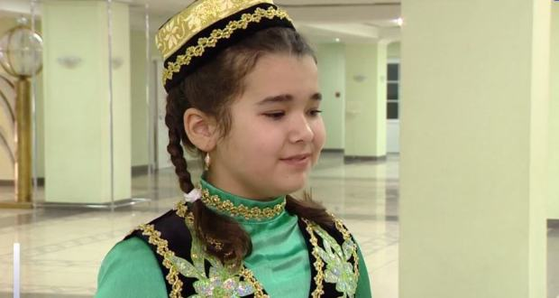 "In Penza, over 300 children took part in the ""Turgai"" folklore competition"