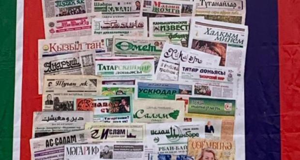 "Tatar journalists visited the newspaper ""Omet"" in Ulyanovsk"