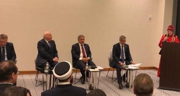 RT President Rustam Minnikhanov met with representatives of the Tatar public associations of the Republic of Belarus