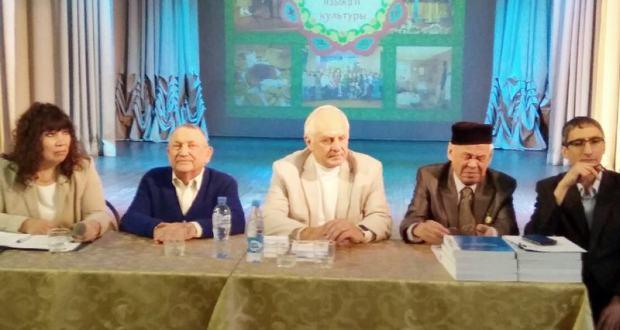 Себер татар теле көне бәйрәмендә