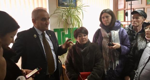 Journalists familiarized themselves with the activities of the TNV office in Ulyanovsk