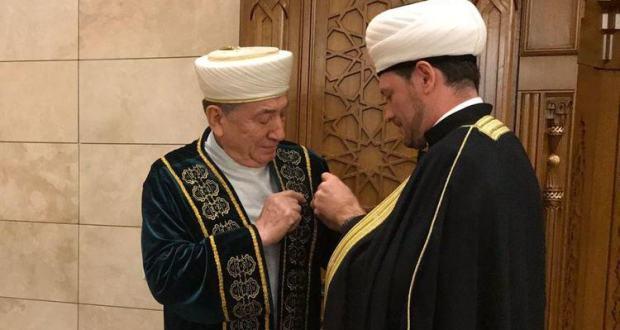 Муфтия Беларуси – коренного татарина наградили орденом российских мусульман