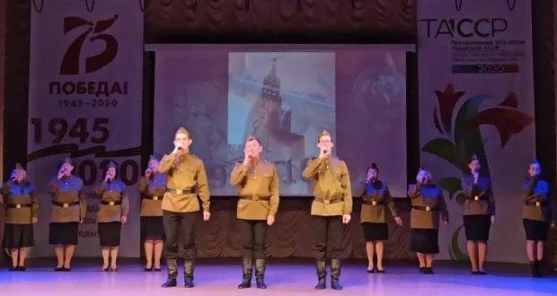 Зәйдә Бөек Җиңүнең 75 еллыгына, ТАССРның 100 еллыгына багышланган иҗат фестивале башланды
