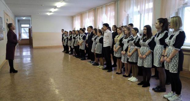 Удмуртиядәге татар балалары белемнәрен сынады